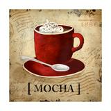 Mocha Premium Giclee Print by Elizabeth Medley