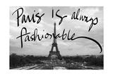 Fashionable Paris Giclee Print by Emily Navas