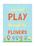 Run and Play Premium Giclee Print by  SD Graphics Studio