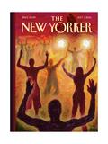 Ferguson, Missouri - The New Yorker Cover, September 1, 2014 Regular Giclee Print by Eric Drooker
