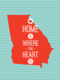 Home Is Where The Heart Is - Georgia Prints