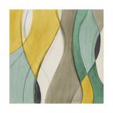 Coastal Teal Coalescence II Giclee Print by Lanie Loreth