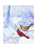 Nature in Winter II Premium Giclee Print by Vivien Rhyan