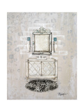 Antique Mirrored Bath I Premium Giclee Print by Tiffany Hakimipour