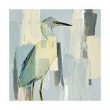 Sorrowing Egret Premium Giclee Print by Lanie Loreth