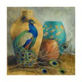 Peacock Vessels I Reproduction giclée Premium par Lanie Loreth