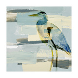 Great Blue Heron Premium Giclee Print by Lanie Loreth
