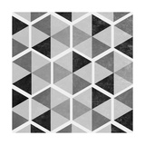 Gray Pattern I Premium Giclee Print by  SD Graphics Studio