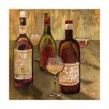 Bottle of Wine I Premium Giclee Print by Elizabeth Medley