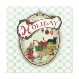 Pet Christmas II Premium Giclee Print by Andi Metz