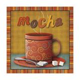 Mocha Premium Giclee Print by  SD Graphics Studio