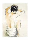 Woman Sitting I Giclee Print by Lanie Loreth