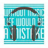 Music Apparatus I Giclee Print