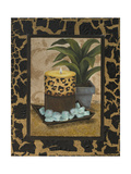 Golden Jungle Bath I Premium Giclee Print by Tiffany Hakimipour