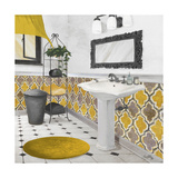 Sundance Bath II (Yellow) Premium Giclée-tryk af Elizabeth Medley