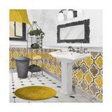 Sundance Bath II (Yellow) Giclee Print by Elizabeth Medley