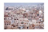 Old Sanaa Buildings - Traditional Yemen House Posters by  zanskar