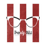 Hip Glasses I Giclee Print