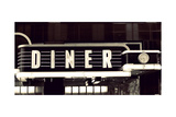 Diner Premium Giclee Print by Susan Bryant