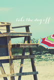 Take the Day Off Photographic Print by Gail Peck