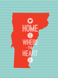 Home Is Where The Heart Is - Vermont Art