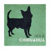 Hola Chihuahua Premium Giclee Print