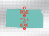 Home Is Where The Heart Is - Kansas Posters