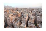 Old Sanaa Buildings - Traditional Yemen Houses Prints by  zanskar