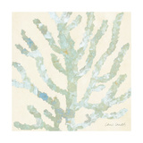 Coral Vision on Cream I Premium Giclee Print by Lanie Loreth