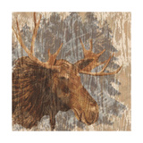 Lodge Moose Giclee Print by Nicholas Biscardi