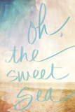 Oh the Sweet Sea Photographic Print by Susan Bryant