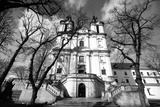 Church of St. Stanislaus Bishop in Krakow, Black and White Photography. Prints by De Visu