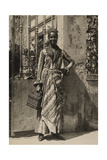 An Informal Portrait of a Woman from Martinique Photographic Print by J. Baylor Roberts
