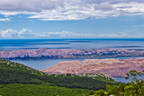 Croatian Islands Aerial View from Velebit Photographic Print by  xbrchx