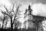 Church of St.Stanislaus Bishop in Krakow, Poland. (Black and White Photography) Posters by De Visu