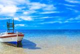 Fishing Boat in the Ionian Sea in Greece Photo by  Netfalls