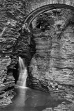 Waterfalls, Black and White Photographic Print by  xmasbaby