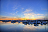 Marina in Beaufort South Carolina, Hdr Image Prints by Wollwerth Imagery