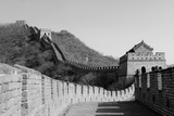 Great Wall in Black and White in Beijing, China Photographic Print by Songquan Deng