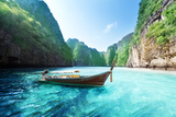 Bay at Phi Phi Island in Thailand Photographic Print by Iakov Kalinin