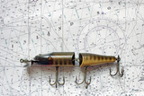 Antique Fishing Lure Photographic Print by Joe Quinn