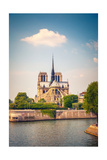 Notre Dame De Paris, France Prints by  sborisov