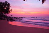 Sunset on the Beach Photographic Print by  ZoomTeam