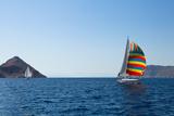 Cruise Sailing of Luxury Yachts. Prints by De Visu