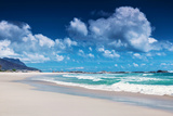 Clifton Beach, Cape Town, South Africa, Paradise Beach, Luxury Tropical Resort, Panoramic Seascape, Prints by Anna Omelchenko
