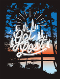 Get Lost Serigraph by Mike Klay