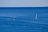 Open Sea Boats, Sailboats and Yachts Photographic Print by  xbrchx