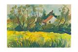 Field Print by  KUCO