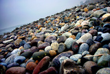Rock Beach Lima Peru Photo