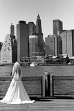 Bride in Dumbo NYC Photo